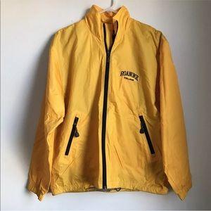 Roanoke College Rain Yellow Jacket Full Zip